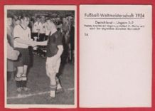 West Germany v Hungary F.Walter Puskas (14)